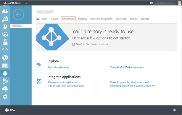 register a client app azure data catalog rest api microsoft docs