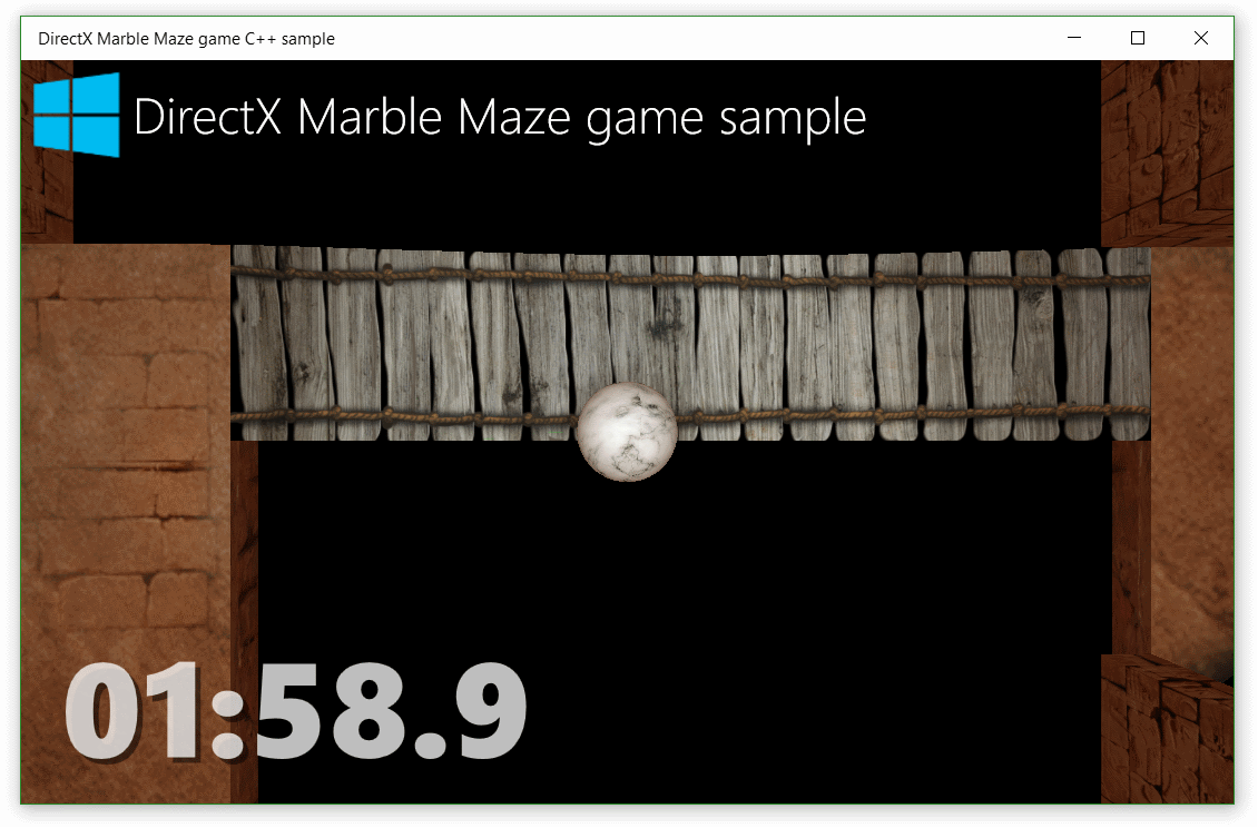 DirectX marble maze game sample - Code Samples | Microsoft Docs