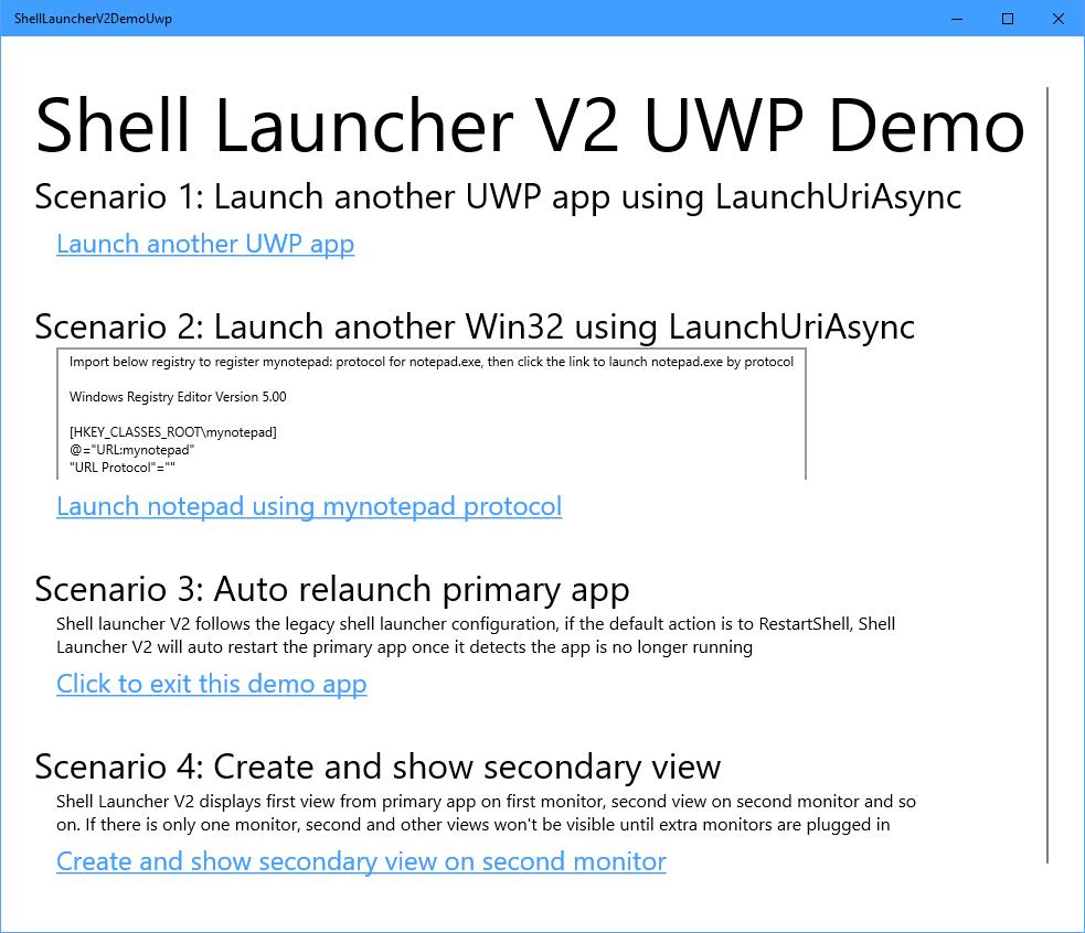 UWP Sample App - Code Samples | Microsoft Docs