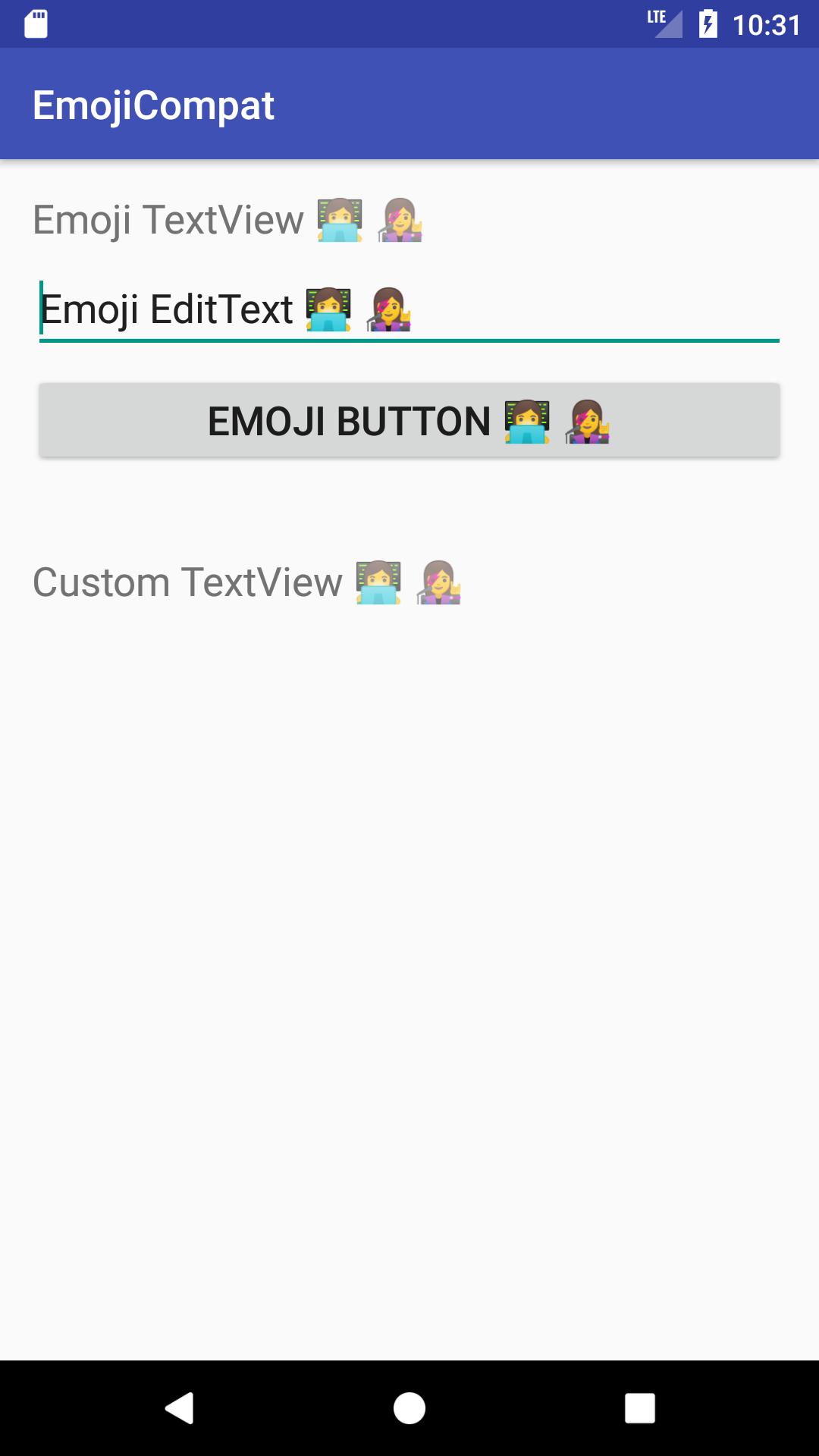 Xamarin Android - EmojiCompat Sample - Code Samples