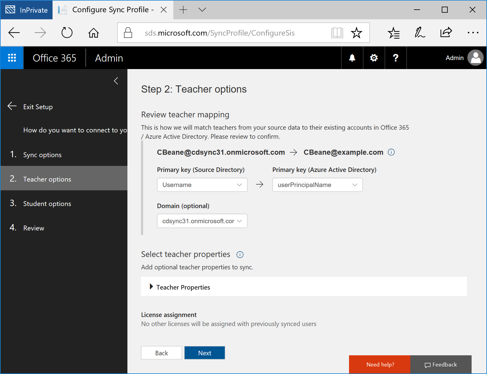 How to deploy School Data Sync by using CSV files