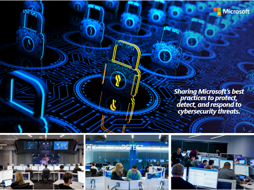 Microsoft Cybersecurity Defense Operations Center Security