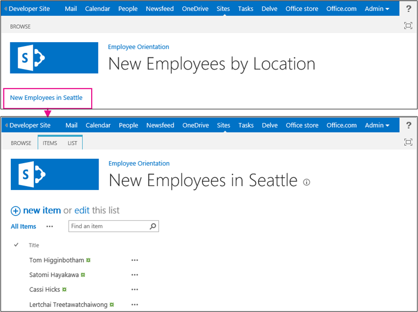 Get started creating SharePoint-hosted SharePoint Add-ins ...