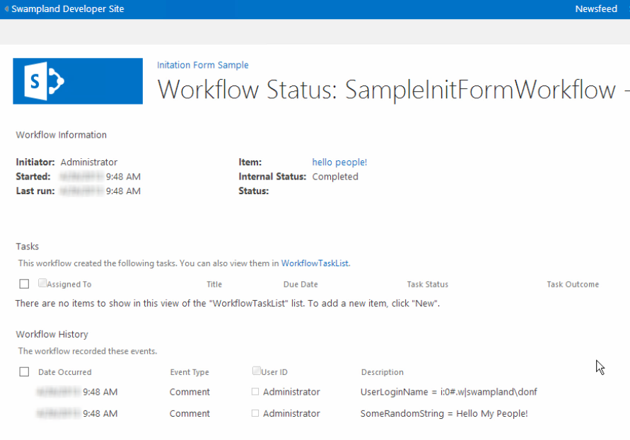 Create custom SharePoint workflow forms with Visual Studio 2012 ...