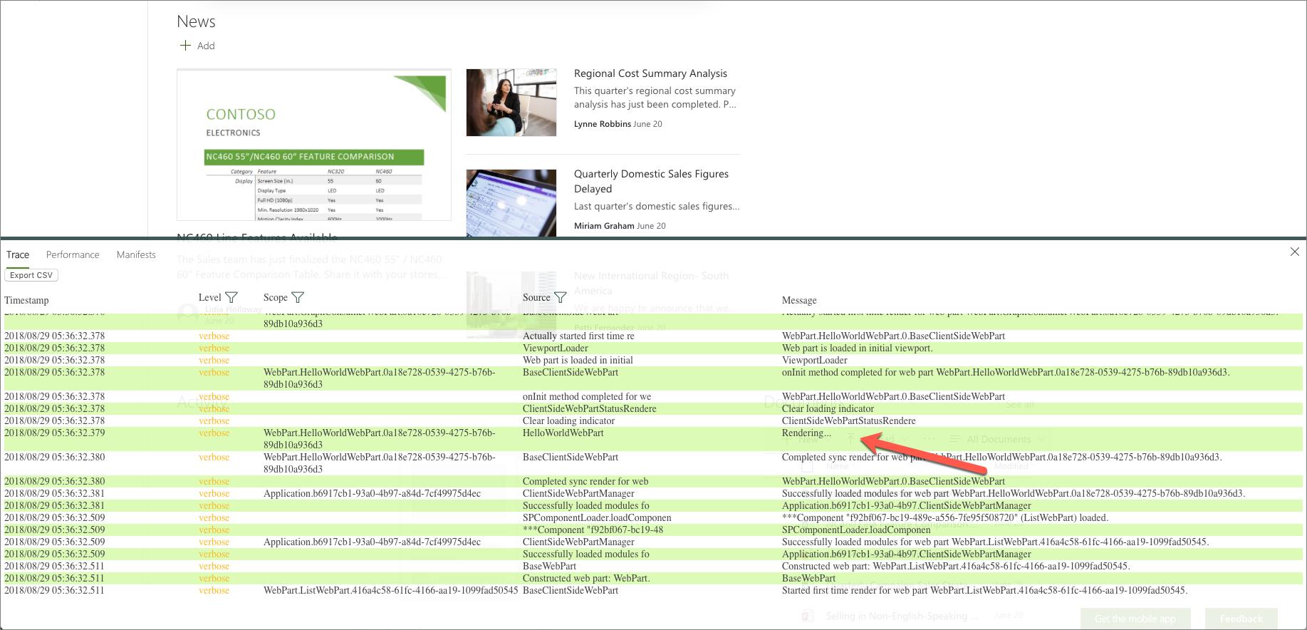 Use the developer dashboard   Microsoft Docs