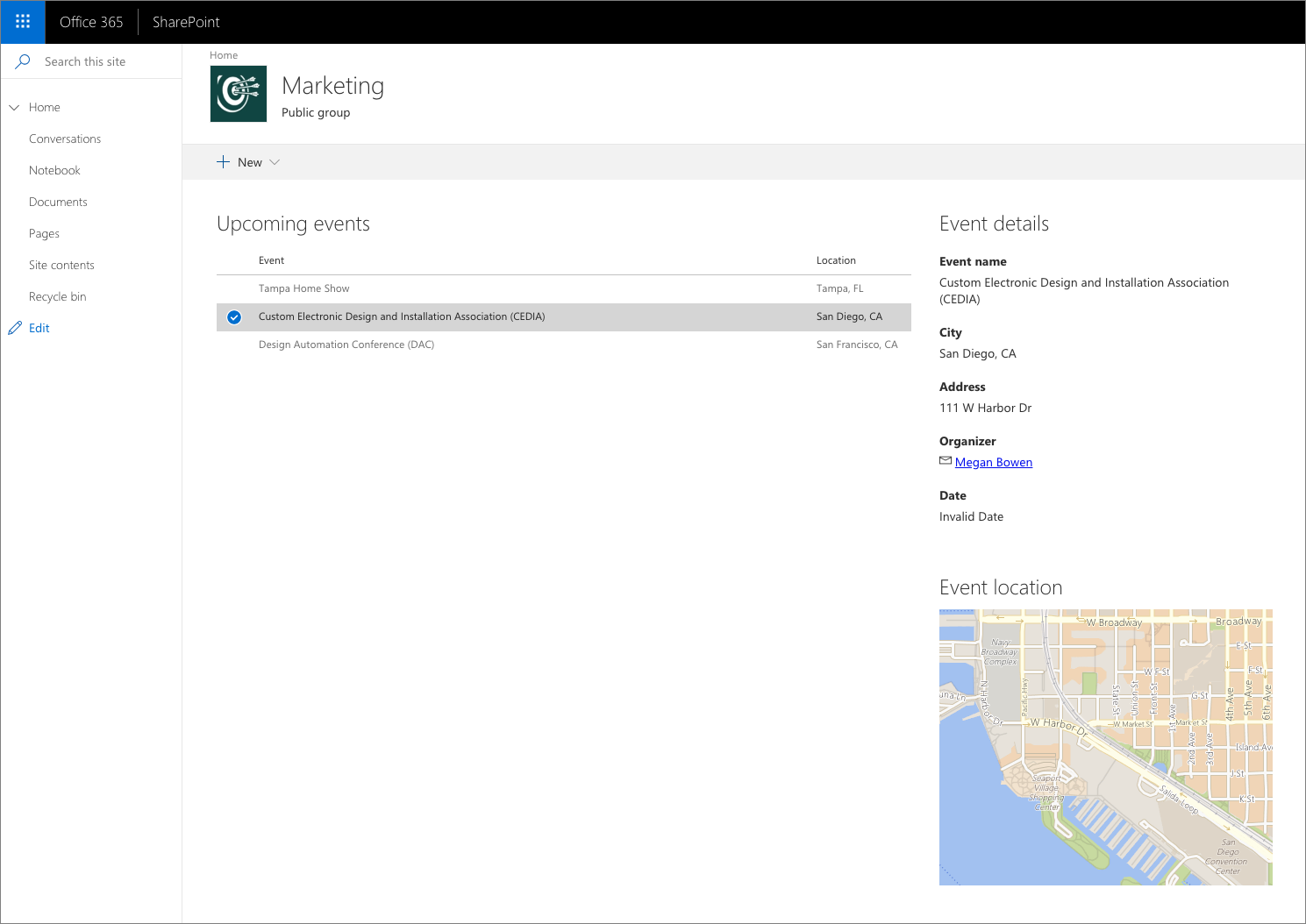 Connect Sharepoint Framework Components Using Dynamic Data Diagram Of Bridge Bing Images Three Web Parts Connected To Each Other Showing Information About Events