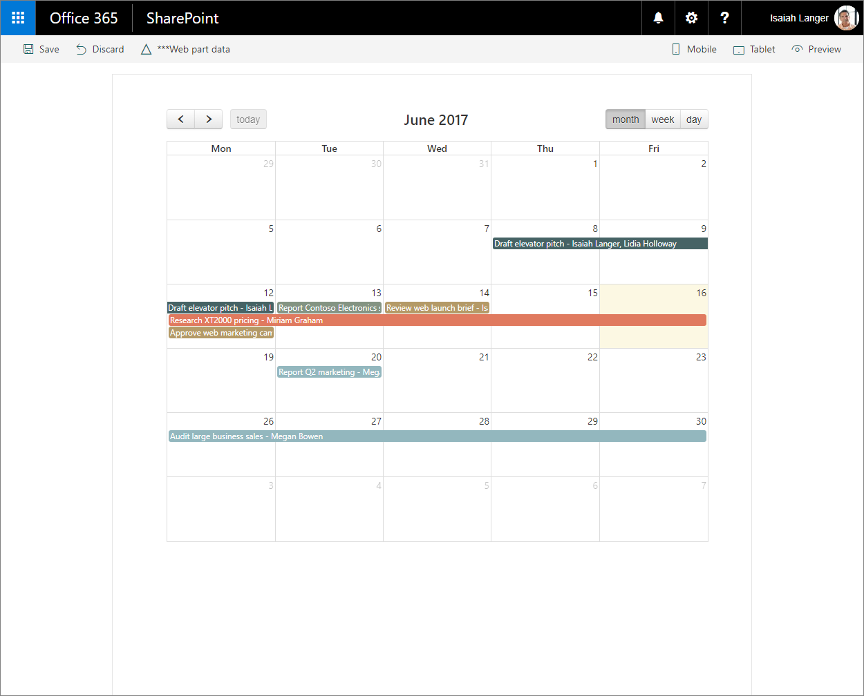 Migrate Jquery And Fullcalendar Solution Built Using Script Editor Block Diagram Tasks Displayed In A Calendar View Sharepoint Framework Client Side Web Part