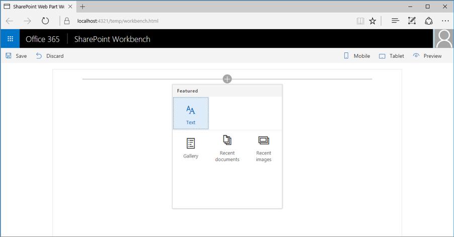 Simplify adding web parts with preconfigured entries | Microsoft Docs