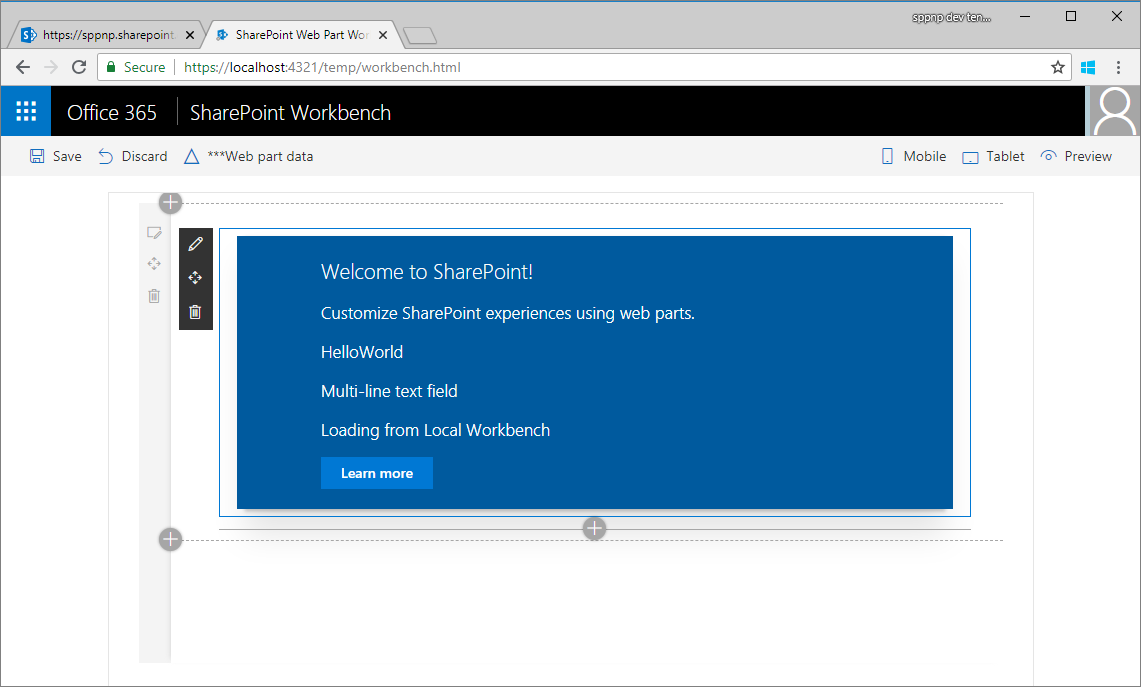 Connect Your Client Side Web Part To Sharepoint Hello World Part 2