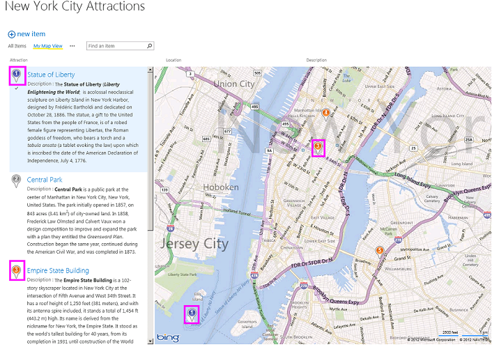 Create A Map View For The Geolocation Field In Sharepoint - Create-us-map-color-coded