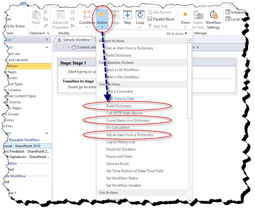 gestionnaire de workflow sharepoint 2013