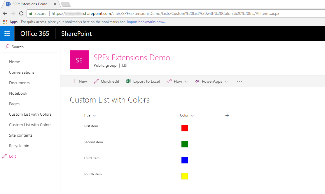 Tutorial - Migrating from JSLink to SharePoint Framework Extensions