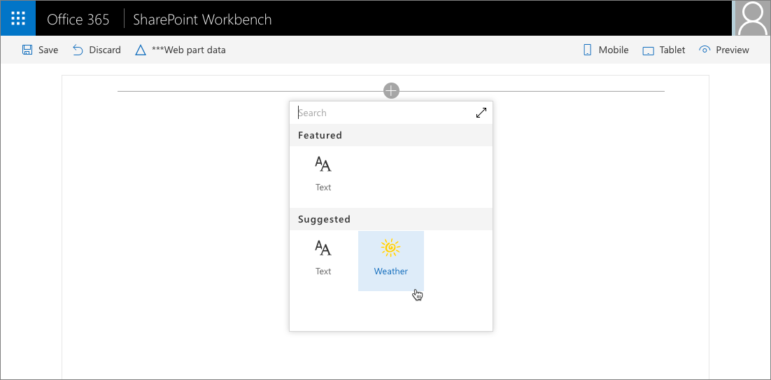 Configure web part icon   Microsoft Docs