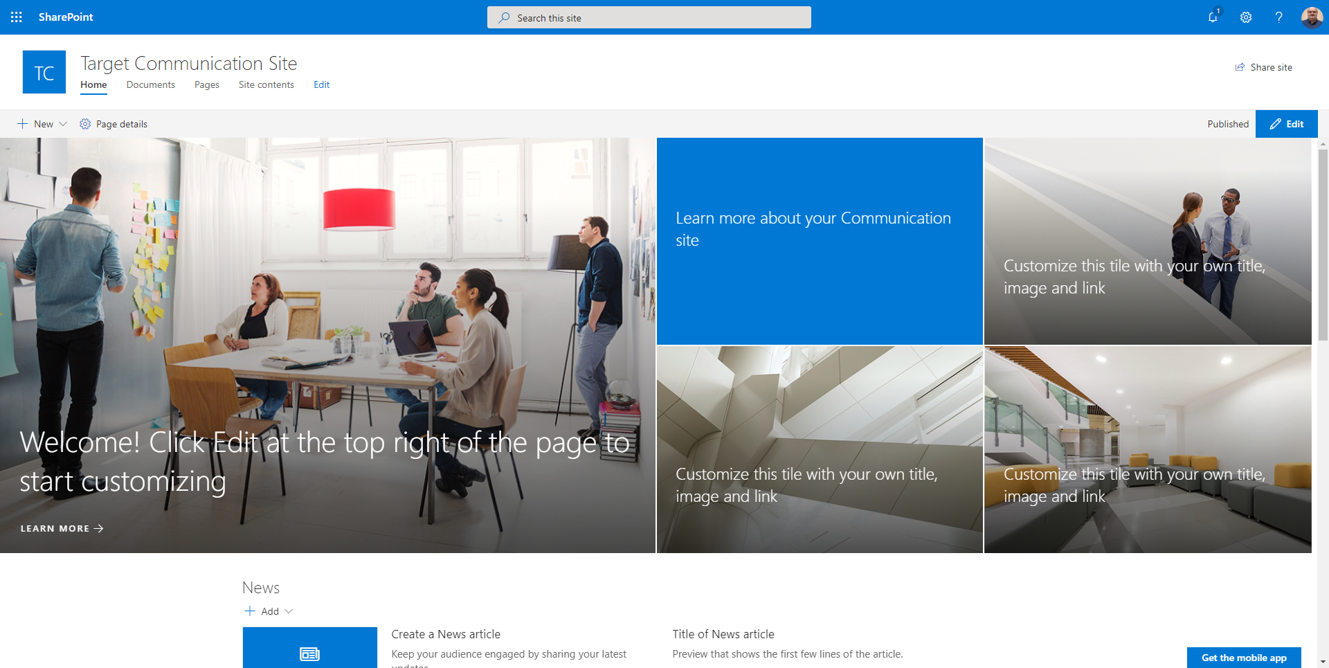 Introducing The Pnp Provisioning Engine Microsoft Docs