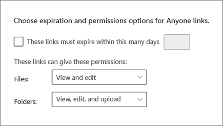 Settings in the new SharePoint admin center