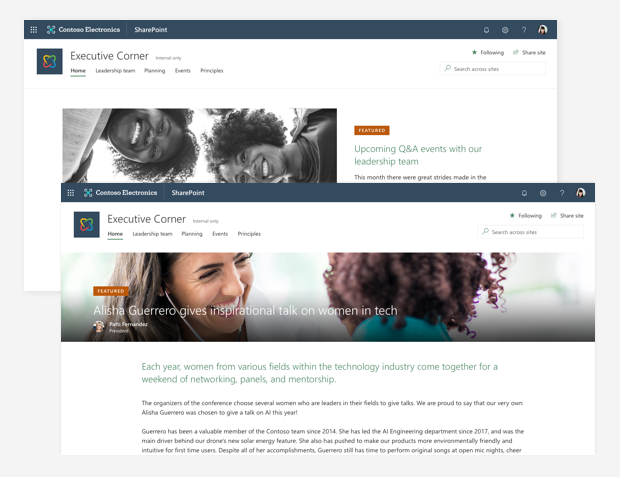 Branding your SharePoint Online site | Microsoft Docs