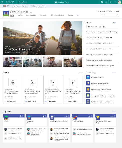 Planning Navigation for the modern SharePoint experience