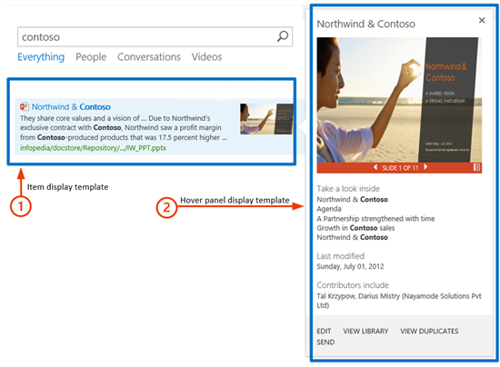 Understanding how search results are displayed in SharePoint Server ...