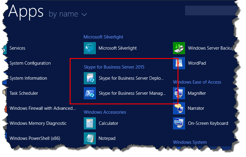 Install administrative tools in Skype for Business Server