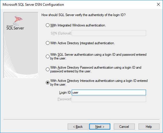 using azure active directory with the odbc driver sql  odbcadm odbcini example.php #2