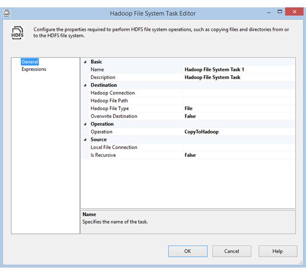 Hadoop File System Task | Microsoft Docs