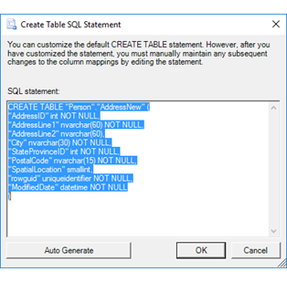 Create table sql statement sql server import and export for Table design sql