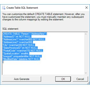 Sql server create table for Table design sql server