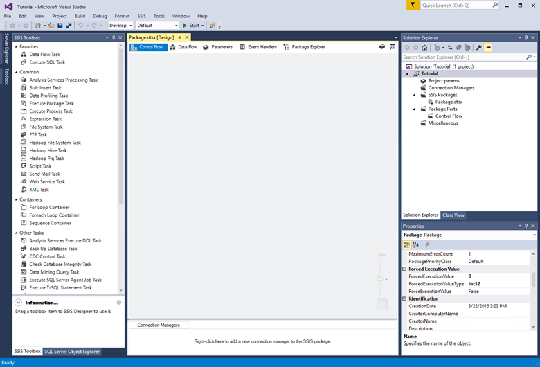 Load data into Azure SQL Data Warehouse with SQL Server Integration
