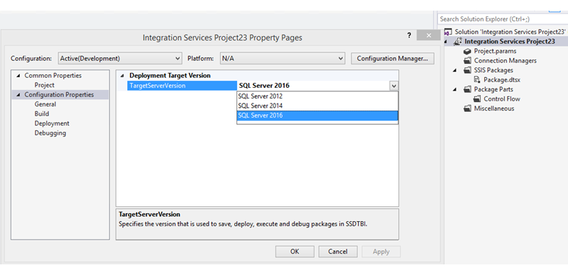 What 39 s new in integration services in sql server 2016 for Ssis design document template
