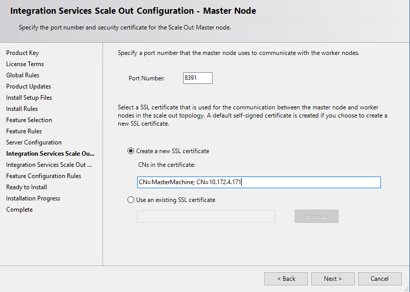 Manage Certificates For Sql Server Integration Services Scale Out