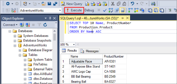 Different Options for Query Results in SQL Server Management Studio