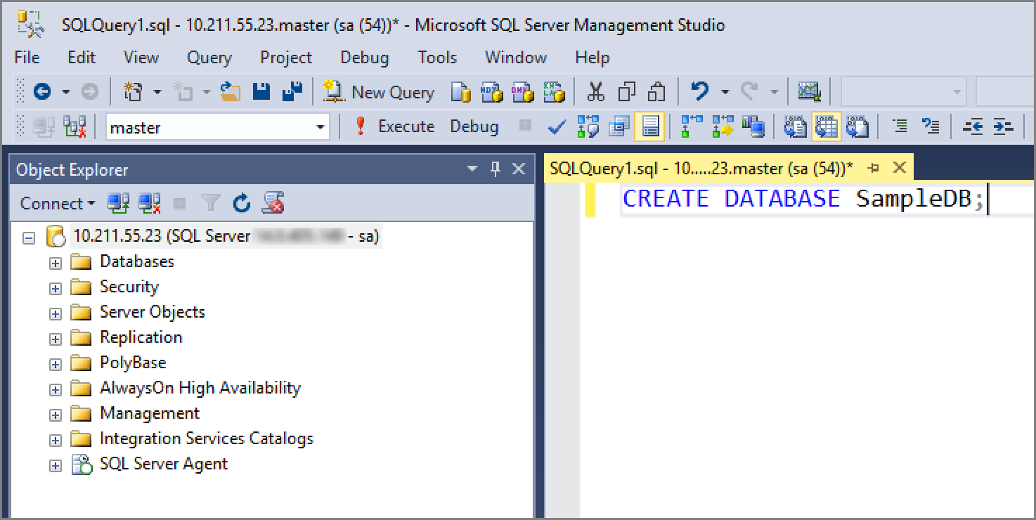 Create and run jobs for SQL Server on Linux | Microsoft Docs