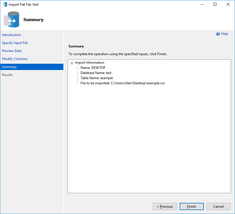 Import Flat File to SQL - SQL Server | Microsoft Docs