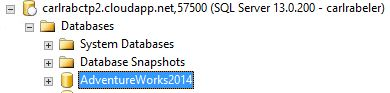 Lesson 4: Restore database to virtual machine from URL ...