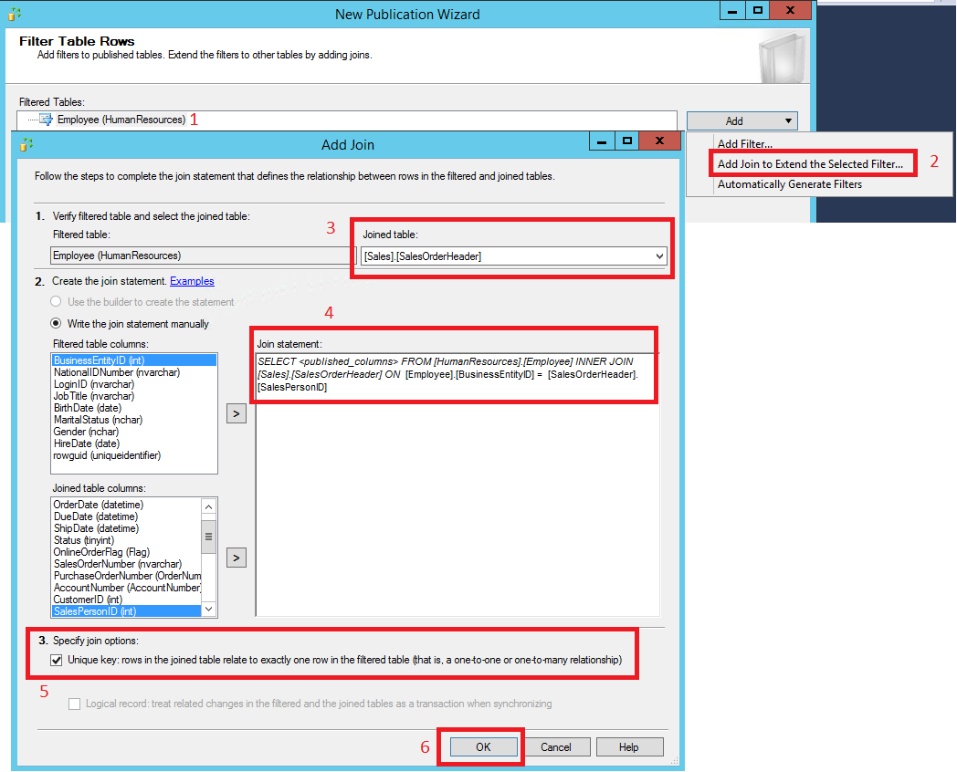 Tutorial: Configure replication between a server and mobile
