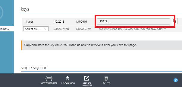 Setup Steps for Extensible Key Management Using the Azure Key ...