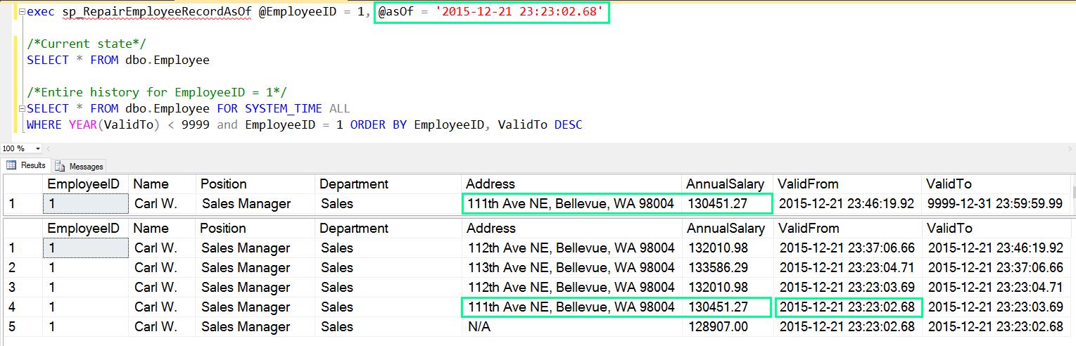 Temporal Table Usage Scenarios - SQL Server   Microsoft Docs