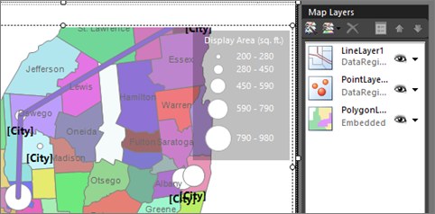 Tutorial Map Report Report Builder Microsoft Docs - Ssrs us map