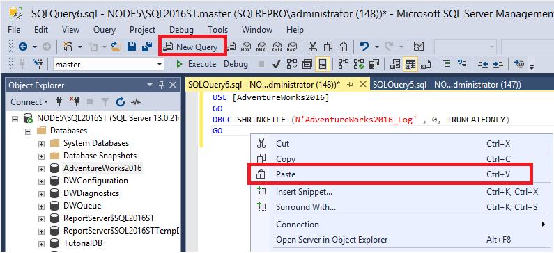 Tutorial: Script objects in SQL Server Management Studio - SQL
