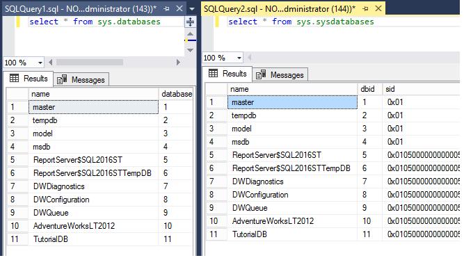 Tutorial: SQL Server Management Studio components and