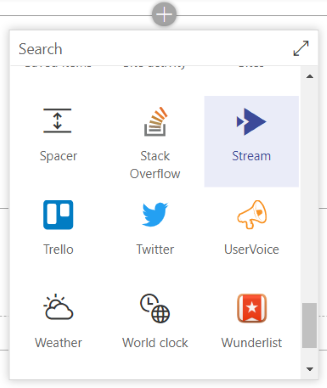 Use Microsoft Stream in SharePoint Online via a webpart