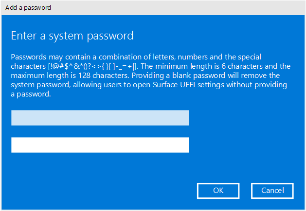 surface pro 3 factory reset no password