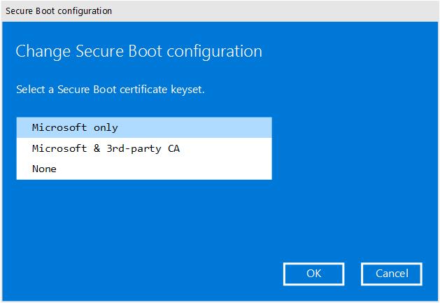 Manage Surface UEFI settings (Surface) | Microsoft Docs