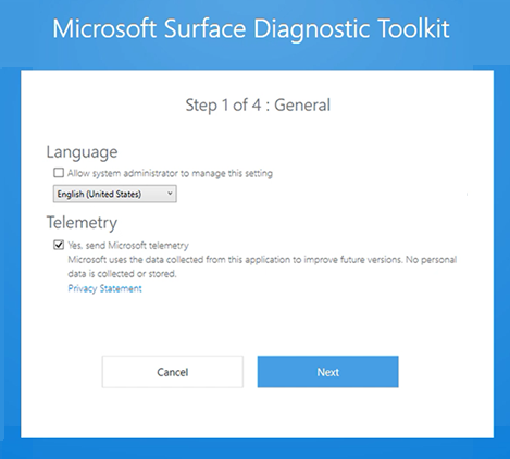 Deploy Surface Diagnostic Toolkit for Business   Microsoft Docs