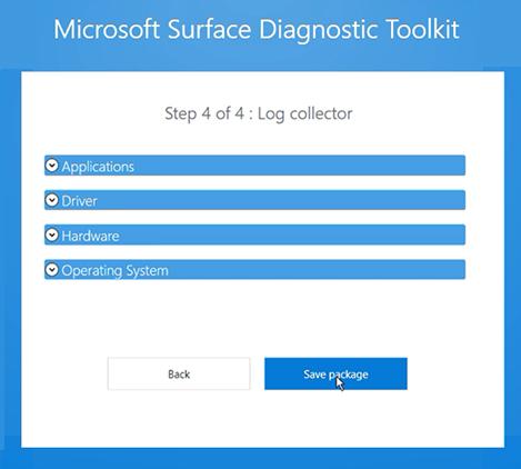 Resultado de imagen para Microsoft Surface Diagnostic Toolkit
