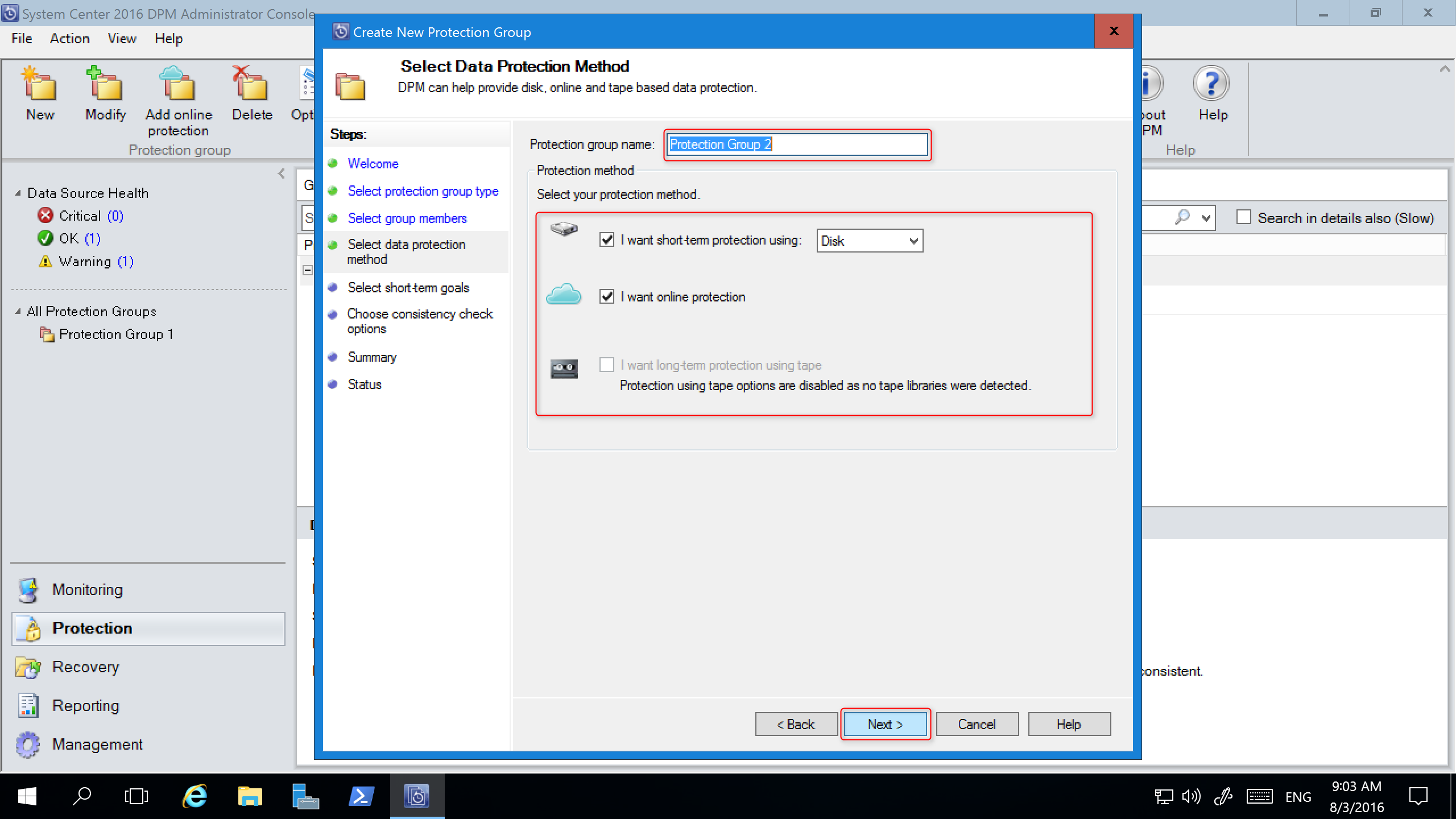Upgrade Your System Center Dpm Microsoft Docs Electronic Selector For 8 Sources