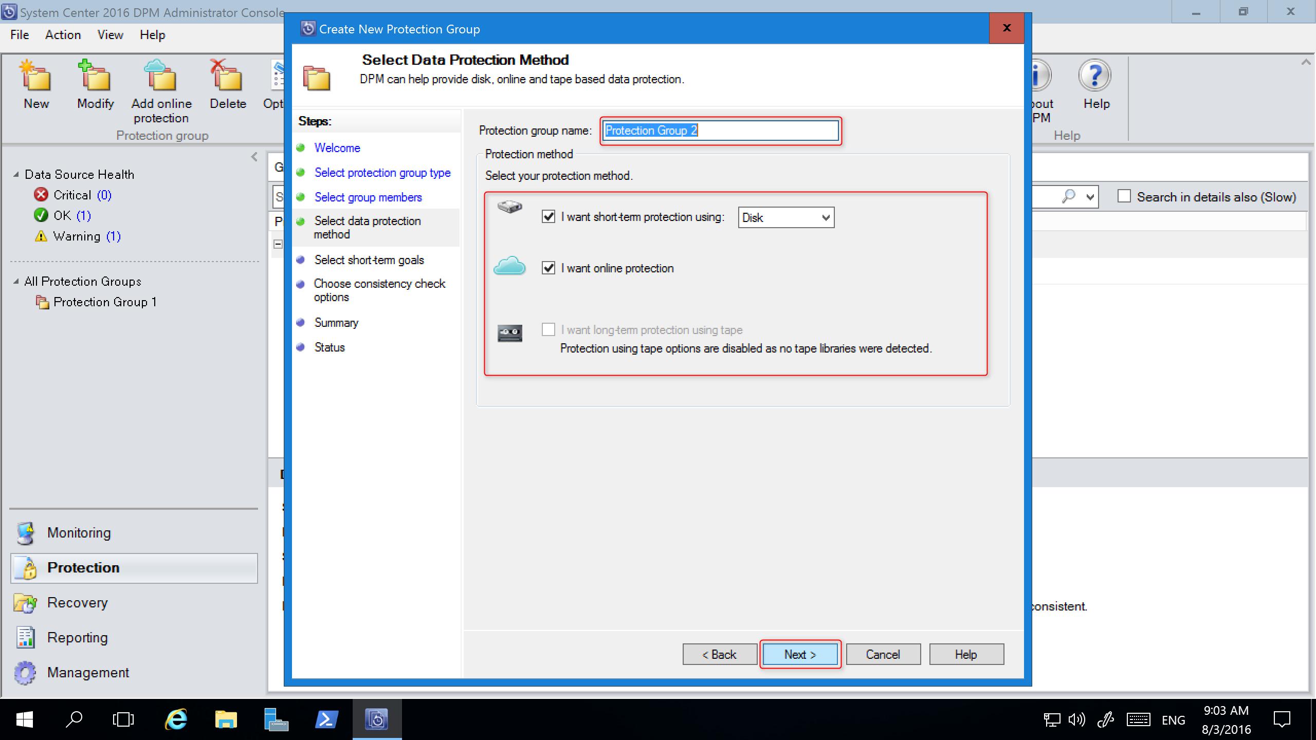 Upgrade your System Center DPM | Microsoft Docs