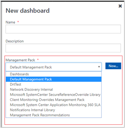 How to create a dashboard with the PowerShell widget in the