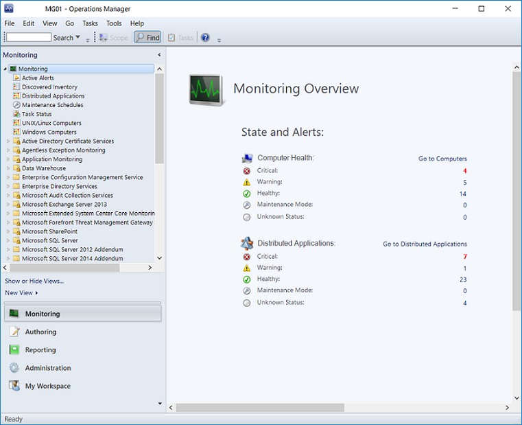 Operations Manager Key Concepts | Microsoft Docs