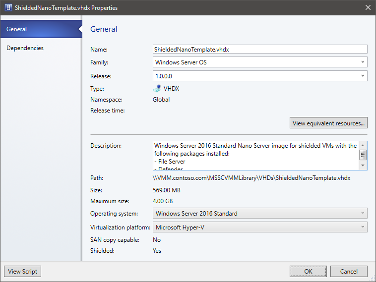 Set up a template disk, shielding helper disk, and VM template to ...